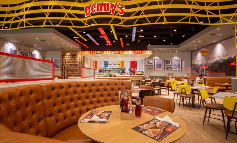 All American Diner Style restaurant Denny's